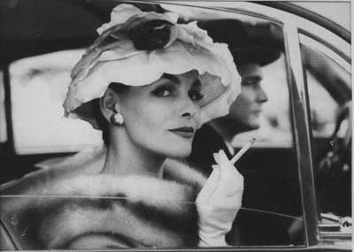 "Frances Pellegrini ""Afternoon Cigarette"""